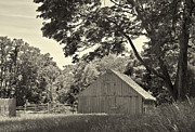 Nancy  de Flon - Farm Building in Sepia