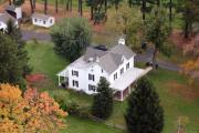 Residential Real Estate Aerial Photographs - Farm House by Duncan Pearson