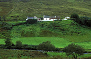 Farm Buildings Prints - Farm house Ireland Print by John Greim
