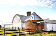 Corn Crib Photo Posters - Farm Life Poster by Todd Hostetter