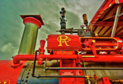 Machinery Digital Art Prints - Farm Ready Print by Dale Stillman