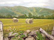John and Lisa Strazza - Farm Scene in Vernon