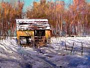 Tom Christopher - Farm Shed -Winter
