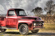 North Fork Prints - Farm Truck Print by Steve Gravano