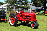 Rural Living Metal Prints - Farmall at The Country Fair Metal Print by Andrew Pacheco