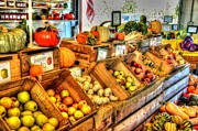 Fruit Store Photos - Farmers Market by Debbi Granruth