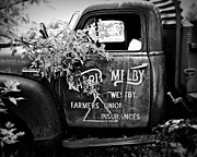Classic Truck Photos - Farmers Union Truck 3 by Perry Webster