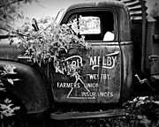 Classic Truck Photos - Farmers Union Truck 4 by Perry Webster