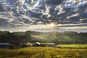 Misty Hills Farm Photos - Farmlands of Appalachia by Debra and Dave Vanderlaan