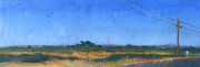 Landscapes Reliefs Originals - Farmscape 1 by Dayton Claudio