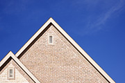 Roofline Prints - Fascia and Ridge of Gable Roof Print by Jeremy Woodhouse