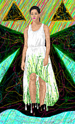 Fashion Art For House Posters - Fashion Abstraction De Jeff Hanson Poster by Kenal Louis