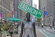 Real People Art Photos - Fashion Ave by Jerry Patterson