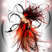 Abstract Art Fashion Posters - Fashion Poster by Liane Kay