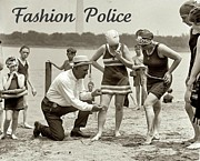 Police Art Posters - Fashion Police 1922 Poster by Padre Art