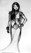 Concept Drawings - Fashion Study by Ulysses Albert III