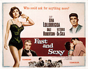 Films By Vittorio De Sica Prints - Fast And Sexy, Aka Anna Di Brooklyn Print by Everett