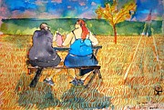 Fast Fooders Tenderness Print by Ion vincent DAnu