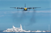 Air Plane Photo Prints - Fat Albert Print by Sebastian Musial