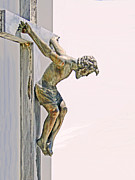 Crucified Photos - Father Forgive Them by Al Bourassa