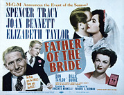 Films By Vincente Minnelli Framed Prints - Father Of The Bride, Spencer Tracy Framed Print by Everett