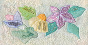 Blooms Tapestries - Textiles - Favourite Lacy Blooms by Denise Hoag