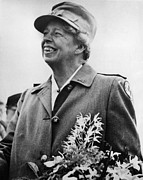 Ev-in Art - Fdr Presidency. Eleanor Roosevelt by Everett