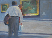 Washington D.c. Originals - Feasting At The National Gallery by Len Stomski