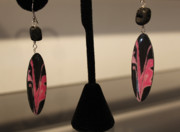 Photography Jewelry Originals - Feather Pink by Jana Landon