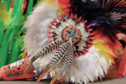 Gathering Photos - Feathers and Beads by Alan Toepfer
