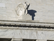 Federal Reserve Eagle Detail Washington Dc Print by Brendan Reals