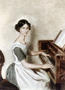 Pianist Framed Prints - Fedotov: Portrait, 1849 Framed Print by Granger