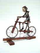 Bicycle Sculptures - Feed The Cut by Jim Casey