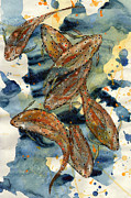 Brown Trout Originals - Feeding by Linda Palmer