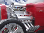 Street Rod Art - Feel the Power by Mike McGlothlen