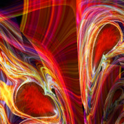 Colorful Art Digital Art - Feeling Closer to You  by Michael Durst