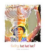 Caribbean Mixed Media Posters - Feeling Hot Hot Hot Poster by Bob Salo