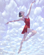 Ballet Dancer Posters - Feels like Heaven Poster by Stefan Kuhn