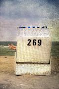 Feet And Beach Chair Print by Joana Kruse