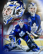 Hockey Net Posters - Felix the Cat Poster by Mike Oulton