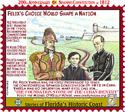 St. Augustine Mixed Media Posters - Felixs Choice Would Shape A Nation Poster by Warren Clark