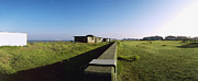 Military Base Photo Originals - Felixstowe Seawall by Jan Faul