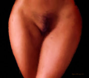 Nudes Digital Art - Female Anatomy I by Wayne Bonney
