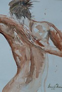 Laurel Thomson Art - Female Nude Study No 1 by Laurel Thomson