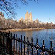 Central Park Prints - Fence With Twin Towers, San Remo Print by Federica Gentile