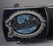 Belt Buckle Jewelry - Fender buckle by John Maringola