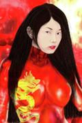 Fenghuang  Print by Claude-Robert Policart