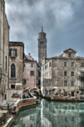Waterway Prints - Fenice Venice Print by Marion Galt