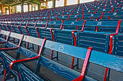 Ballpark Prints - Fenway Bleachers Print by Michael Yeager