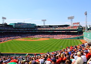 Red Sox Framed Prints - Fenway Framed Print by Jeff Heimlich